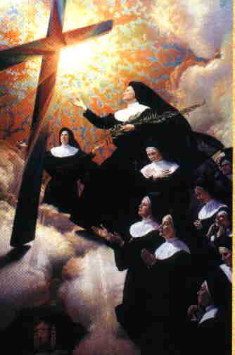 Obraz beatyfikacyjny, mal. J. Kumala, Kraków 1998 r.